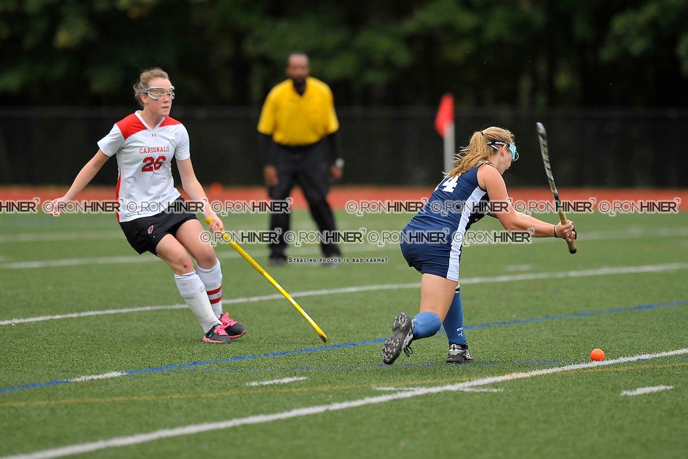 Staples High School Field Hockey..Staples defeats Greenwich in 1-0 overtime win..Callie Hiner (SR)(C)