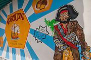 Advertisement for Tortuga Rum Cakes in Nassau , Bahamas.