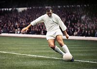 Terry Cooper (Leeds) Leeds United v Manchester City 16/10/1971 Credit : Colorsport