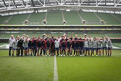 May 31, 2018 - Dublin, Ireland, Ireland - Dublin, Ireland - June 1, 2018: The USMNT trains at Aviva Stadium before an international friendly against Ireland. (Credit Image: © John Dorton/ISIPhotos via ZUMA Wire)