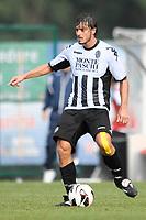 Matteo Contini Siena.Auronzo di Cadore 25/7/2012.Football Calcio 2012 / 2013 .Amichevole Friendly Match.SS Lazio Vs AC Siena.Foto Insidefoto.