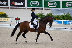 Lilann Jebsen, (NOR), Pro Set - Grand Prix Team Competition Dressage - Alltech FEI World Equestrian Games™ 2014 - Normandy, France.<br /> © Hippo Foto Team - Leanjo de Koster<br /> 25/06/14