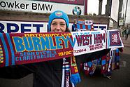 2014 Burnley v West Ham United