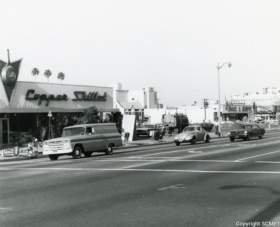 1976 Sunset Blvd. & Gower St.