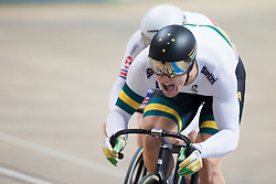 February 28, 2019 - Pruszkow, Poland - Matthew Glaetzer (AUS) on day two of the UCI Track Cycling World Championships held in the BGZ BNP Paribas Velodrome Arena on February 28, 2019 in Pruszkow, Poland. (Credit Image: © Foto Olimpik/NurPhoto via ZUMA Press)