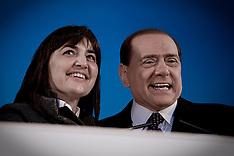 Manifestazione Pdl - Roma 20-03-2010