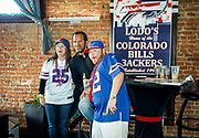 SHOT 12/10/17 12:30:09 PM - Former Buffalo Bills wide receiver and Hall of Fame player Andre Reed signs autographs and meets with fans at LoDo's Bar and Grill in Denver, Co. as the Buffalo Bills played the Indianapolis Colts that Sunday. Reed played wide receiver in the National Football League for 16 seasons, 15 with the Buffalo Bills and one with the Washington Redskins. (Photo by Marc Piscotty / © 2017)