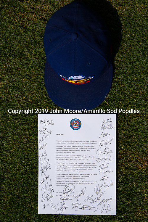 The Amarillo Sod Poodles played against the Tulsa Drillers during the Texas League Championship on Sunday, Sept. 15, 2019, at OneOK Field in Tulsa, Oklahoma. [Photo by John Moore/Amarillo Sod Poodles]