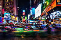 Times Square Traffic, New York City