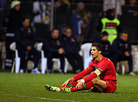 Fotball<br /> 11.11.2011<br /> Foto: Gepa/Digitalsport<br /> NORWAY ONLY<br /> <br /> UEFA Europameisterschaft 2012, Qualifikation,Play-Off, Laenderspiel, Bosnia Herzegovina vs Portugal<br /> <br /> Bild zeigt Christiano Ronaldo (POR).
