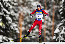 March 9, 2019 - –Stersund, Sweden - 190309 Andrejs Rastorgujevs of Latvia competes in the Men's 10 KM sprint during the IBU World Championships Biathlon on March 9, 2019 in Östersund..Photo: Petter Arvidson / BILDBYRÃ…N / kod PA / 92252 (Credit Image: © Petter Arvidson/Bildbyran via ZUMA Press)