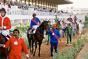 Horseracing in Riyadh, Saudi Arabia