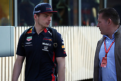 May 11, 2019 - Montmelò.Montmel&#Xf2, Catalunya, Spain - xa9; Photo4 / LaPresse.11/05/2019 Montmelo, Spain.Sport .Grand Prix Formula One Spain 2019.In the pic: Max Verstappen (NED) Red Bull Racing RB15 with his father Jos (Credit Image: © Photo4/Lapresse via ZUMA Press)