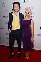Alex Cameron and Jemima Kirke at Los Angeles Premiere Of 'Untogether' held at Frida Restaurant on February 08, 2019 in Sherman Oaks, California, United States (Photo by JC Olivera)