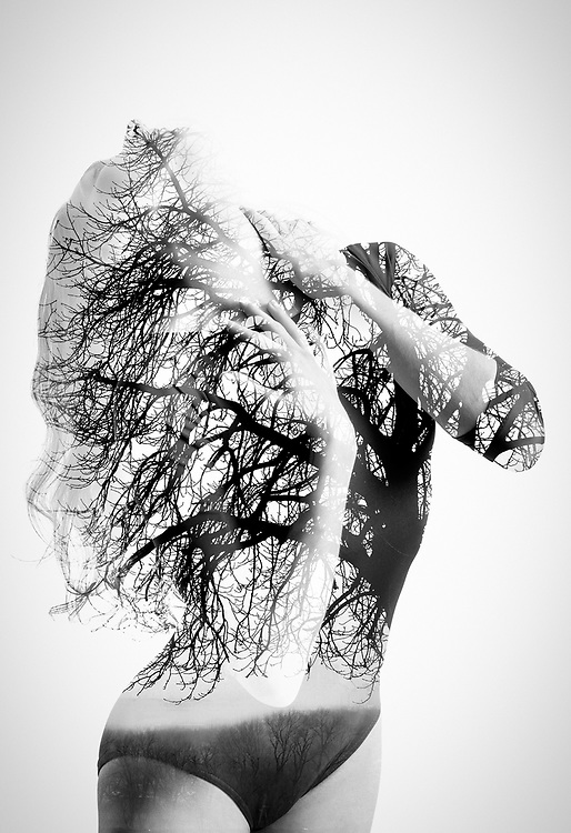 NATURALE: Where the human form and nature are intertwined. Ballet models: Emily DeVito and Gena Nelson. <br /> ©justinalexanderbartels.com