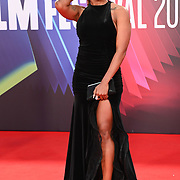 Alexandra Burke attended King Richard | BFI London Film Festival 2021, 15 October 2021 Southbank Centre, Royal Festival Hall, London, UK.