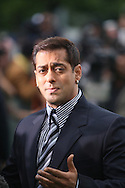 Indian actor Salman Khan arriving at the International Indian Film Academy Awards (IIFA) ceremony at the Hallam Arena in Sheffield for the annual IIFA awards. The awards were known as the 'Bollywood Oscars' and ran from 7-10th June. They were watched by an estimated global television audience 500 million people.