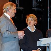 NLD/Arnhem/20121103 - 100 Jarig bestaan NOC/NSF Sportparade, Andre Bolhuis, Epke Zonderland en Jaques Rogge