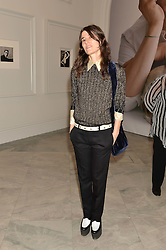 BELLA FREUD at the Alexandra Shulman and Leon Max hosted opening of Vogue 100: A Century of Style at The National Portrait Gallery, London on 9th February 2016.