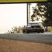 #89, Porsche 911 RSR, Team Project 1, drivers: Steve Brooks, Andreas Laskaratos, Julien Piguet, LM GTE Am, at the Le Mans 24H, 2020, 20 September 2020