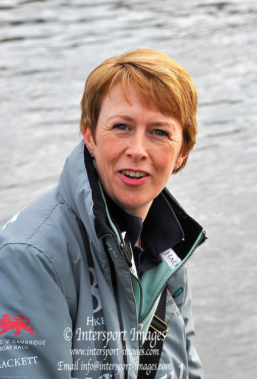 London, UK,  2014 Varsity, Annual Tideway Week. CUBC, Cambridge University Boat Club, Nikki WATRASIEWICZ, Executive Secretary. 04:26:27  Saturday  05/04/2014  : [Mandatory Credit Intersport Images]