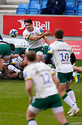during a Gallagher Premiership Round 14 Rugby Union match, Sunday, Mar 21, 2021, in Eccles, United Kingdom. (Steve Flynn/Image of Sport)