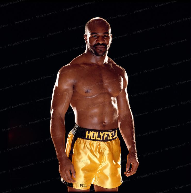 Evander Holyfield, heavyweight boxing champion.