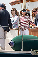 Monaco Royals on the Yacht Pacha III - 3 June 2018