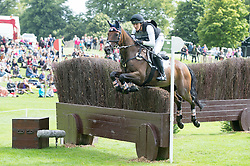 Ashker Laine, (USA), Anthony Patch<br /> Cross country<br /> Land Rover Burghley Horse Trials - Stamford 2015<br /> © Hippo Foto - Jon Stroud<br /> 05/09/15