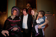 GRAYSON PERRY;  JULIAN LLOYD WEBBER;; CERRIE BURNELL; Founding Fellows 2010 Award Ceremony. Foundling Museum on Monday  8 March