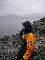 Wet lunch by Frøysjøen - våt matpause ved Frøysjøen
