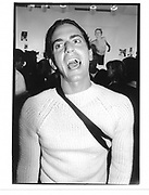 Mark J acobs Kate Moss Photo exhibit New York 1992 approx.© Copyright Photograph by Dafydd Jones 66 Stockwell Park Rd. London SW9 0DA Tel 020 7733 0108 www.dafjones.com