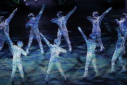 February 25, 2018 - Pyeongchang, KOREA - Closing ceremony for the Pyeongchang 2018 Olympic Winter Games at Pyeongchang Olympic Stadium. (Credit Image: © David McIntyre via ZUMA Wire)