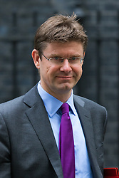 Downing Street, London, October 20th 2015.  Communities Secretary Greg Clark leaves 10 Downing Street after attending the weekly cabinet meeting
