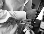 A bride and groom get married at Berkeley City Club, Berkeley, CA.