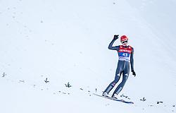 01.01.2014, Olympiaschanze, Garmisch Partenkirchen, GER, FIS Ski Sprung Weltcup, 62. Vierschanzentournee, Bewerb, im Bild Andreas Wellinger (GER) // Andreas Wellinger (GER) during Competition of 62nd Four Hills Tournament of FIS Ski Jumping World Cup at the Olympiaschanze, Garmisch Partenkirchen, Germany on 2014/01/01. EXPA Pictures © 2014, PhotoCredit: EXPA/ JFK