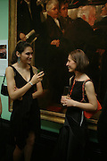 Clare Barnett and Alina Barnett.  Celebration of Lord Weidenfeld's 60 Years in Publishing hosted by Orion. the Weldon Galleries. National Portrait Gallery. London. 29 June 2005. ONE TIME USE ONLY - DO NOT ARCHIVE  © Copyright Photograph by Dafydd Jones 66 Stockwell Park Rd. London SW9 0DA Tel 020 7733 0108 www.dafjones.com