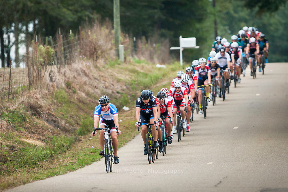 Cyclist participate in the 2015 MS 150 Louisiana bike race from Hammond, La. to McComb, Ms.