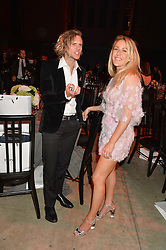 DOUGIE POYNTER and ELLIE GOULDING at the GQ Men of The Year Awards 2016 in association with Hugo Boss held at Tate Modern, London on 6th September 2016.