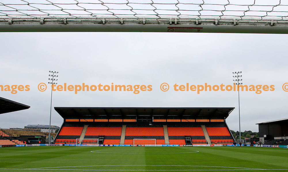 A view of the North stand prior to the Sky Bet League 2 match between Barnet and Colchester United at Underhill Stadium in London. September 17, 2016.<br /> Carlton Myrie / Telephoto Images<br /> +44 7967 642437