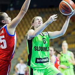 20150807: SLO, Basketball - FIBA Europe U18 European Championship Women, Slovenia vs Russia
