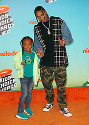 March 23, 2019 - Los Angeles, CA, USA - LOS ANGELES, CA - MARCH 23: Tyga, King Cairo Stevenson attend Nickelodeon's 2019 Kids' Choice Awards at Galen Center on March 23, 2019 in Los Angeles, California. Photo: CraSH for imageSPACE (Credit Image: © Imagespace via ZUMA Wire)