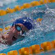 David Davies, Great Britain, in action in the Men's 800m Freestyle heats at the World Swimming Championships in Rome on Tuesday, July 28, 2009. Photo Tim Clayton.