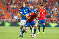 Spain's Koke Resurrección and Italy's Daniele De Rossi during match between Spain and Italy to clasification to World Cup 2018 at Santiago Bernabeu Stadium in Madrid, Spain September 02, 2017. (ALTERPHOTOS/Borja B.Hojas)