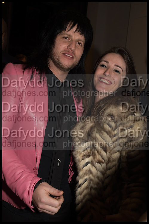 Nina Fowler works curated by James Birch, The launch of Dadiani Fine Art, 30 Cork St. London.  24 November 2014