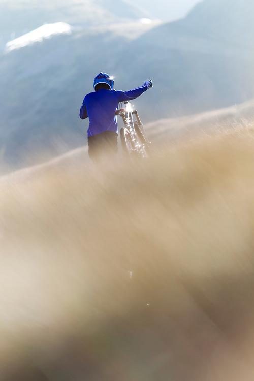 Rider Richie Schley Location Tessin  (Switzerland)