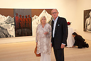 JANE ATKIN; DAVID CICLITIRA, Indonesian Eye Contemporary Art Exhibition Reception, Saatchi Gallery. London. 9 September 2011. <br /> <br />  , -DO NOT ARCHIVE-© Copyright Photograph by Dafydd Jones. 248 Clapham Rd. London SW9 0PZ. Tel 0207 820 0771. www.dafjones.com.