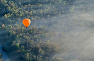 Balloons fly over areas north of Cairns.