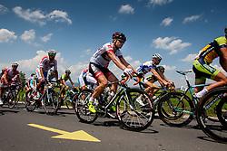Jure Golcer (SLO) of Tirol Cycling Team during 4th Stage Brezice - Novo Mesto (155,8 km) at 20th Tour de Slovenie 2013, on June 16, 2013,  Slovenia. (Photo by Urban Urbanc / Sportida.com)
