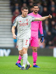Liverpool's James Milner in his 500th Premier League appearance during the Premier League match at the Vitality Stadium, Bournemouth.